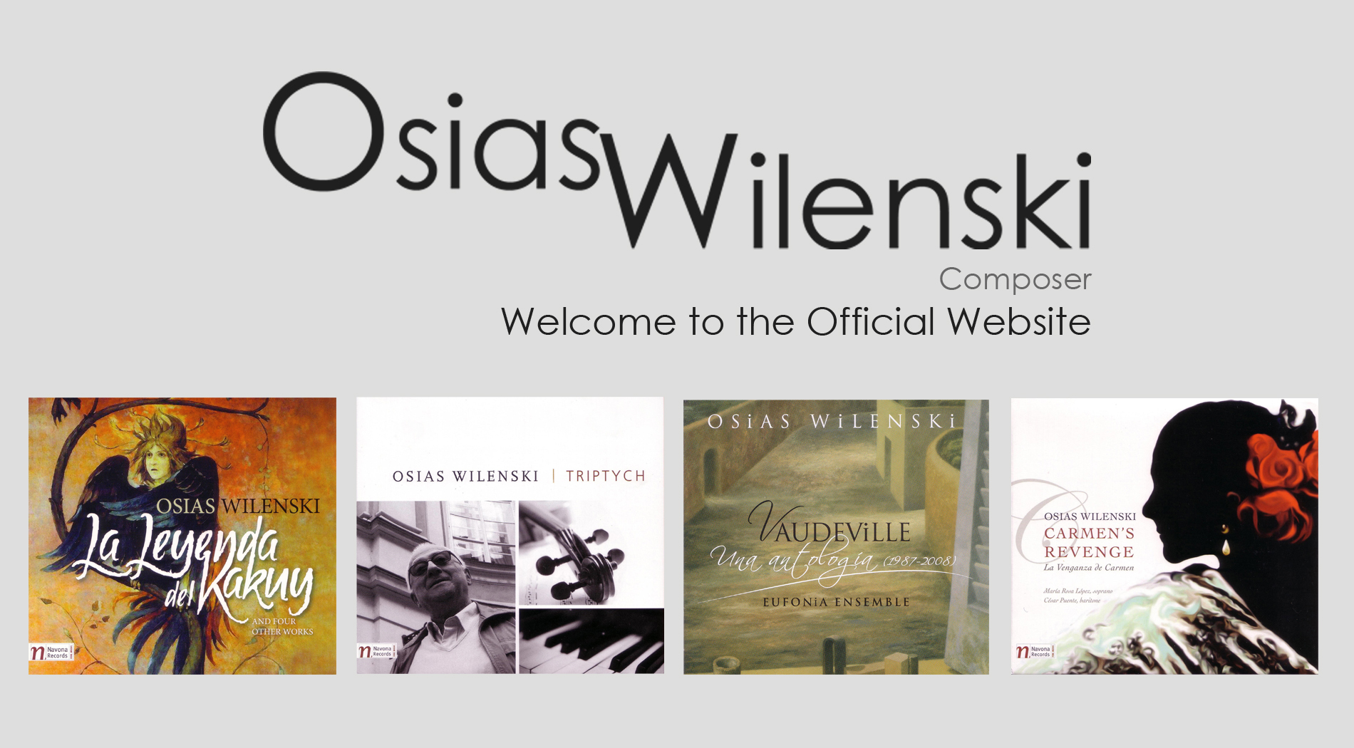OSIAS WILENSKI CD